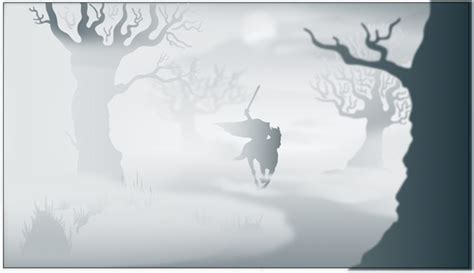 How to create a foggy vector landscape using Adobe
