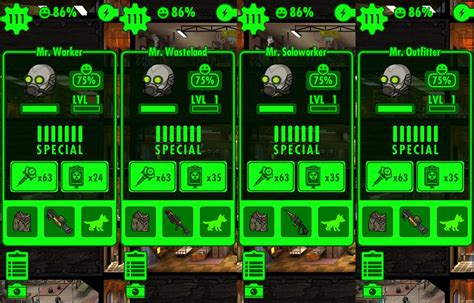 fallout shelter - Do dwellers level up faster in crafting