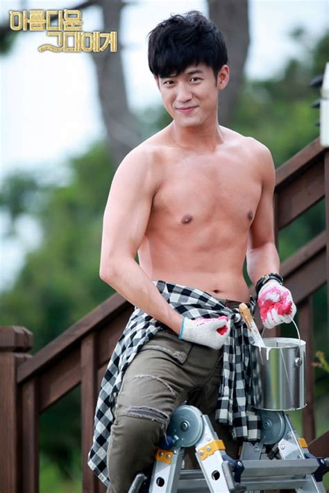"""""""To The Beautiful You"""": Seo Joon Young Paints Shirtless"""