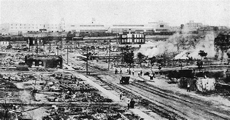 """A white mob destroyed Tulsa's """"Black Wall Street"""" a"""